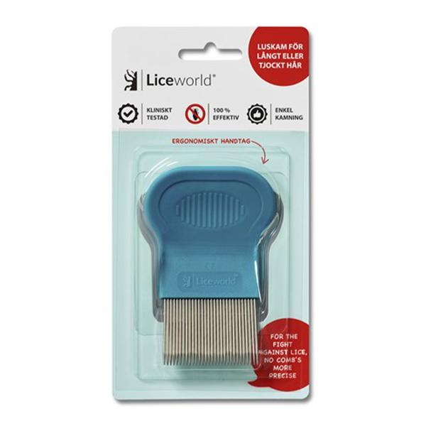 LiceWorld® Luskam för långt/tjockt hår